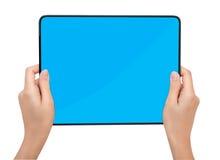 个人计算机片剂触摸板 免版税库存照片
