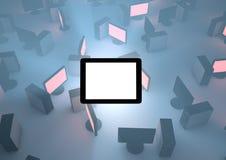 个人计算机片剂 免版税图库摄影