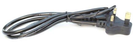 个人计算机电缆 免版税库存图片