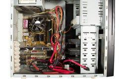 个人计算机的个人计算机 免版税库存图片