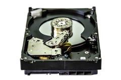 个人计算机的磁盘驱动器 免版税库存图片
