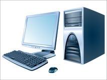 个人计算机 库存例证