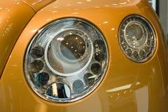 个人豪华汽车本特利新的大陆GT V-8 免版税库存图片