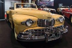 个人豪华汽车林肯大陆敞蓬车, 1948年 免版税库存照片