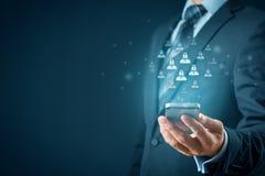 个人资料保护和GDPR 免版税图库摄影