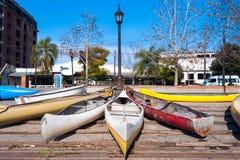 个人车停车处在埃尔蒂格雷,阿根廷 库存照片