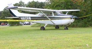 个人飞机 库存图片