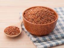 整个健康和clea的五谷传统泰国米最佳的米 免版税库存照片