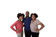 3个兄弟姐妹或朋友 库存照片