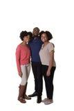 3个兄弟姐妹或朋友 库存图片