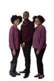 3个兄弟姐妹或朋友 免版税库存照片