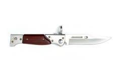 1个刀片刀子军用无格式武器 免版税图库摄影