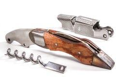 1个刀片刀子军用无格式武器 免版税库存照片