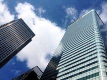 1个加拿大广场汇丰塔 免版税库存照片
