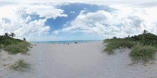 360个图象海滩场面 免版税库存图片