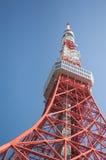 2011个夏天被采取的东京塔 免版税图库摄影