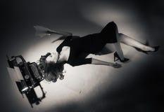 15个妇女年轻人 图库摄影