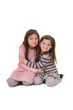 2个姐妹或朋友 图库摄影