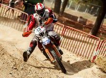 24个小时摩托车越野赛长距离赛 免版税库存照片