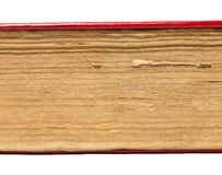19个年龄背景书老发布的白色 免版税库存照片