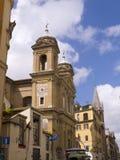 900个教会之一在罗马意大利 库存照片