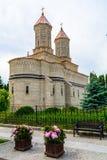 3个教主教会- Iasi罗马尼亚欧洲 在1637-1639修造,提供经费由摩尔达维亚国王Vasile Lupu修道院位于  图库摄影