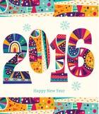 2016个新年 免版税库存图片