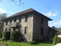 12 1567 1660个最佳的城市欧洲设防堡垒建立的fredrikstad房子房子图象使北老最旧的部分保留的s 9月石头到城镇典型是 免版税库存照片