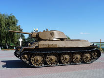 34个最佳ii媒体苏维埃t坦克胜利战争武器世界 库存照片