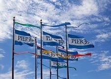 39个标志弗朗西斯科码头圣 免版税图库摄影