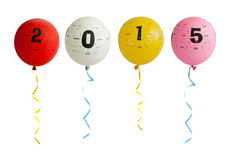 2015个气球 库存图片
