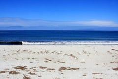 17个海滩推进英里 免版税库存图片