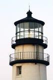 1816个烽火台鳕鱼被设立的第一座有历史的轻的灯塔马萨诸塞一个点种族转动的rubblestone第三个塔是 免版税库存照片