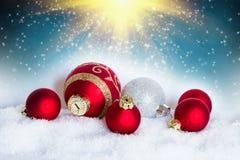 2007个球圣诞节年 库存图片