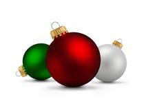 2007个球圣诞节年 图库摄影