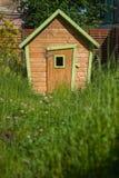 4个电缆犬科朋友房子安置被租赁的岁月 免版税图库摄影