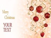 3个看板卡圣诞节 免版税库存照片