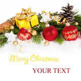 3个看板卡圣诞节 免版税库存图片