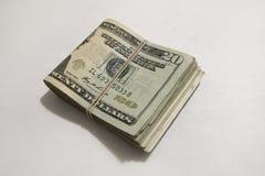 20个票据美元 免版税库存图片