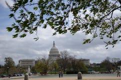 2009个秋天国会大厦状态团结了 库存图片