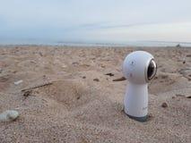 360个程度三星齿轮VR照相机 免版税库存照片