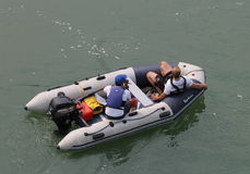 2010个第7条小船冠军瓷俱乐部乘员组龙澳门赛跑赢利地区世界 库存照片