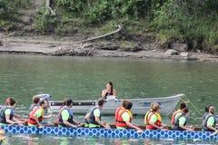 2010个第7条小船冠军瓷俱乐部乘员组龙澳门赛跑赢利地区世界 库存图片