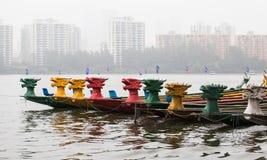 2010个第7条小船冠军瓷俱乐部乘员组龙澳门赛跑赢利地区世界 免版税库存照片