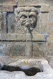 6个管子的来源, Gaucin,安达卢西亚 免版税图库摄影
