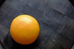整个红色橙色风景上面 免版税库存照片