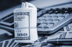 做金钱概念 免版税库存图片