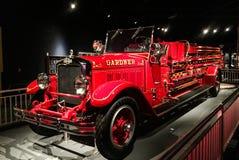1929个美国人LaFrance消防部门卡车 库存照片