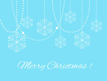 8个背景圣诞节典雅的eps文件包括了雪花向量 免版税图库摄影