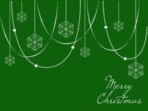 8个背景圣诞节典雅的eps文件包括了雪花向量 库存图片